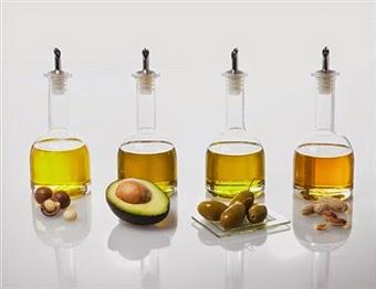Diversos aceites vegetales