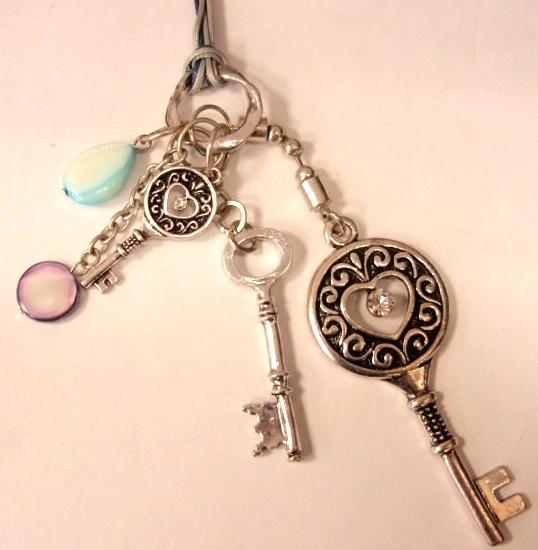 Detalle colgante llaves