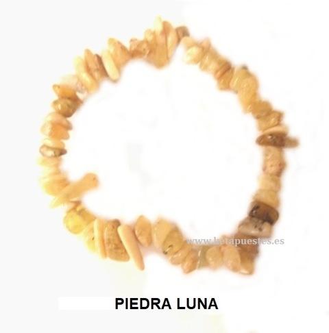 Pulsera elástica Chip 1º Clase Piedra Luna