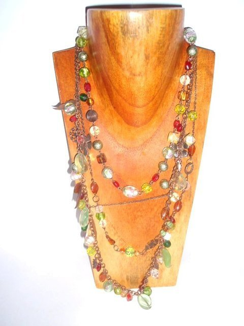 Collar Moon Jewellery Bosque multicolor jew315
