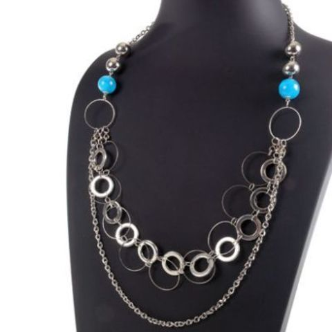 Collar Moon Jewellery Universo azul jew307