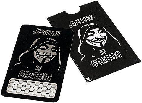 Ketapuestes - Grinder Tarjeta V Sindicate Anonymous - K� t�apuestes