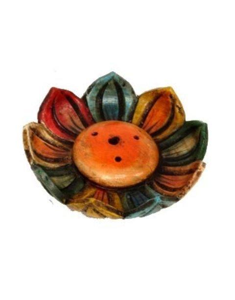 Ketapuestes - Porta incienso cer�mica Flor de Loto - K� t�apuestes