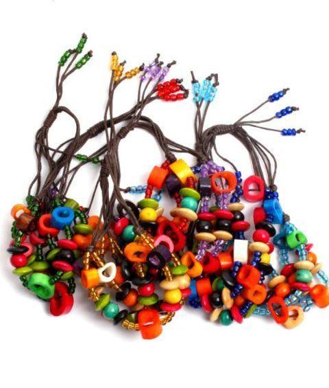 Ketapuestes - Pulsera hippie tres tiras colores - K� t�apuestes