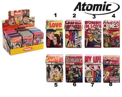 Ketapuestes - Pitillera Soft Atomic Comics - Ké t´apuestes