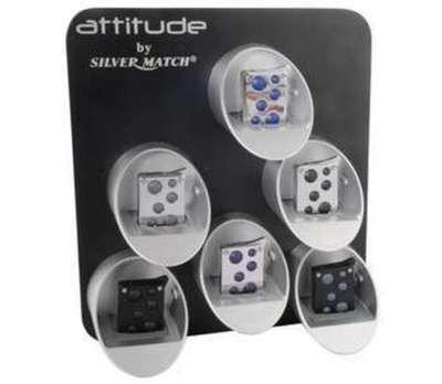 Encendedor Silver Match Attitude Contact