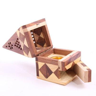 Caja de humos Pirámide