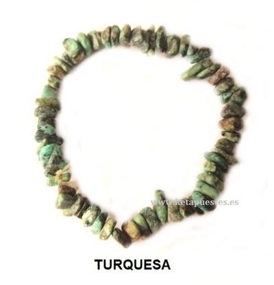 Pulsera elástica Chip 1º Clase Turquesa