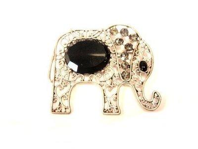 Broche  filigrana elefante