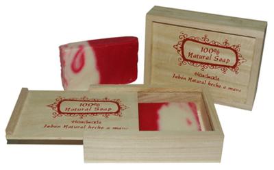 Caja madera Ancient Wisdom para jabón