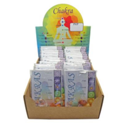Bolsita pack minerales 7 chakras