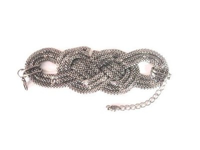 Pulsera cadena trenzada nudo 424633