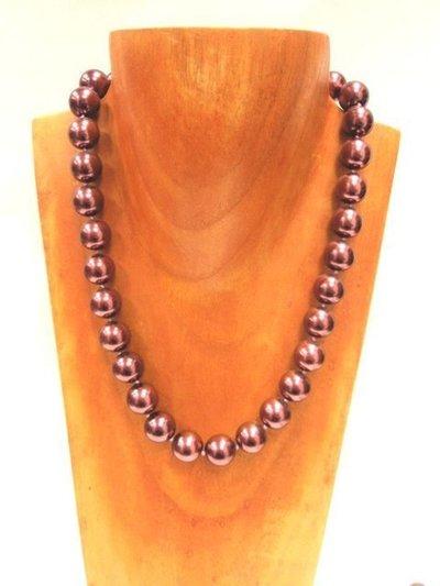 Gargantilla perla de cristal 93852