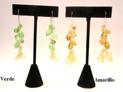 Pendiente Moon Jewellery Hojas