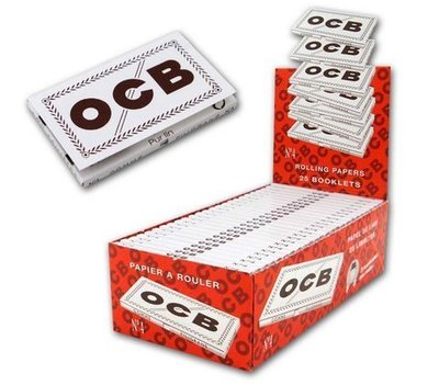 OCB Nº 4 Blanco doble