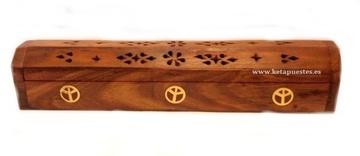 Caja de humos varilla/cono Yin Yang