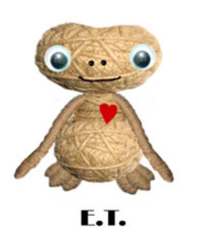 Llavero Voodoo Dolls E.T.