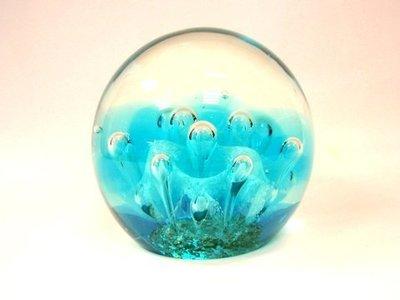 Pisapapeles Burbujas Azul claro