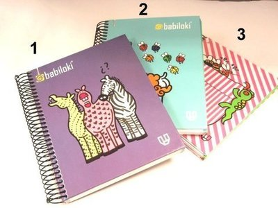 Cuaderno 1/8 Babiloki Collection