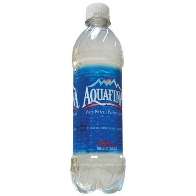 Bote de camuflaje Aquafina