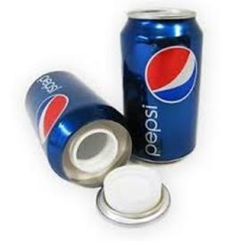 Lata de camuflaje Pepsi