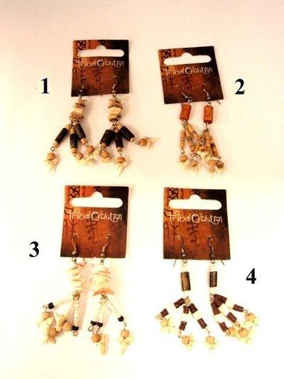 Pendiente Tribal Evolution dientes mod.1
