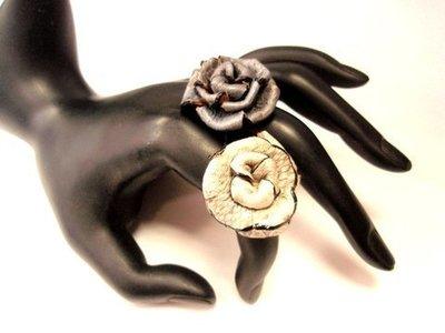 Anillo Snake Flor