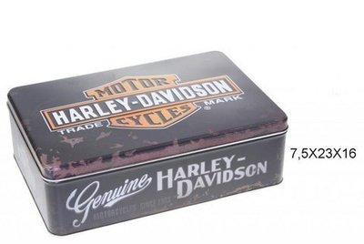 Caja metal  Genuine Harley-Davidson