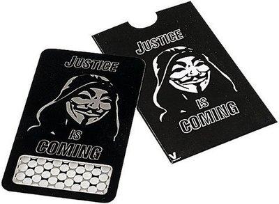 Grinder Tarjeta V Sindicate Anonymous