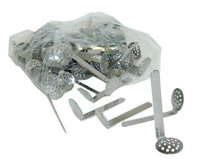 Cucharilla-Rejilla metal para bong