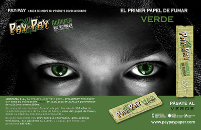 PASATE AL VERDE. PAY PAY CO GREEN