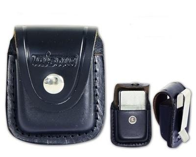 Funda Tristar negra con clip metálico
