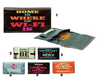 Bolsa para tabaco Atomic Frases