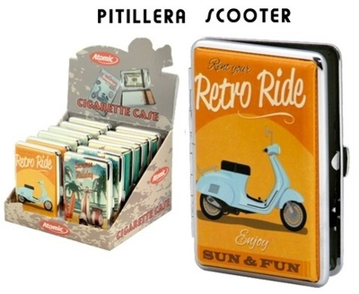 Pitillera Atomic Scooter Retro