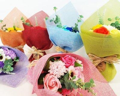 Ramo de flores de jabon