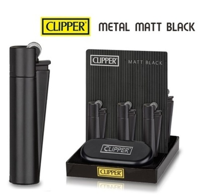 Clipper metal Matt Black