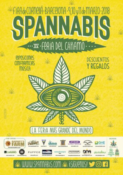 Nueva edición de la Feria Spannabis 2018