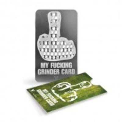 Grinder Tarjeta V Sindicate My Fucking Grinder Card