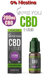 VapeYou 200mg CBD Sativa Hemp