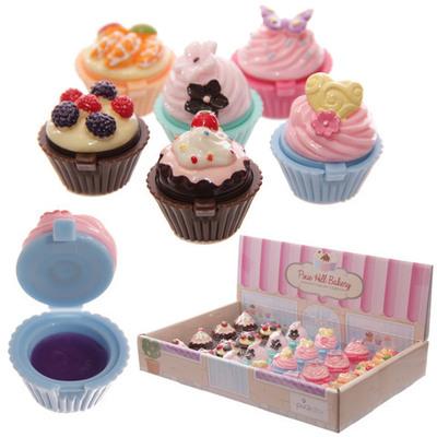 Brillo de labios Cupcake