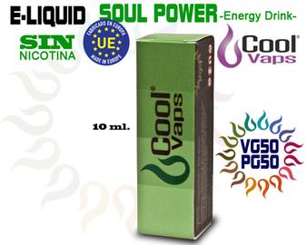 Cool Vaps Soul Power (Bebida Ernegética)