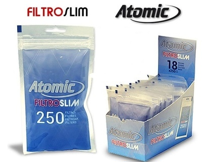 Filtros Atomic Slim 6mm