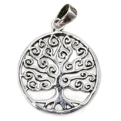 Colgante plata Árbol de la Vida pequeño