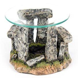 Quemador de aceite Círculo de piedras