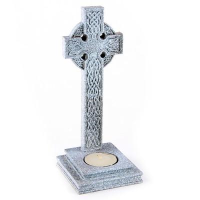 Porta velas Cruz Celta granito