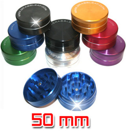 Grinder Grassleaf aluminio 50mm color