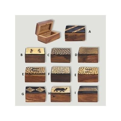 Caja madera mini Etnica