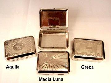 Caja para tabaco pequeña con portalibrito
