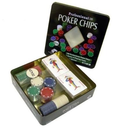 Juego Poker 100 fichas