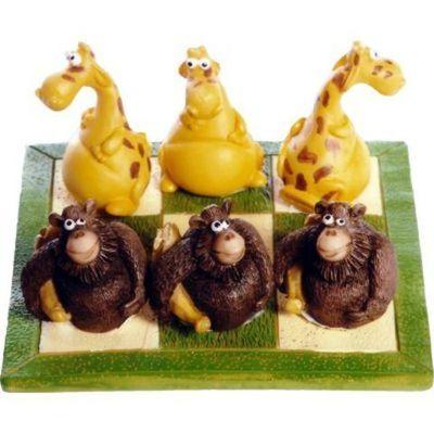 Tres en Raya Gorila-Jirafa